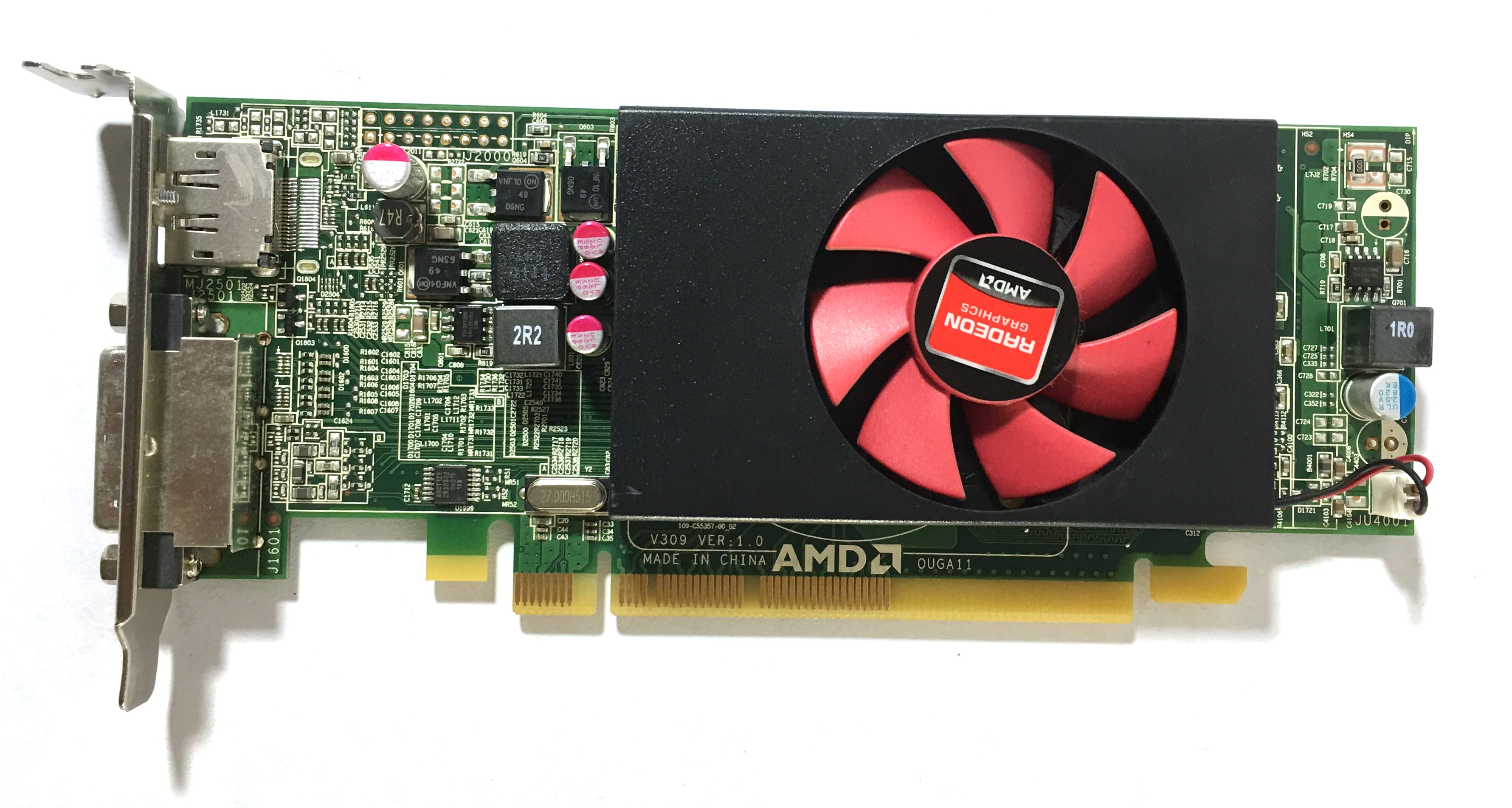 Dell AMD Radeon HD 8490 Video Card 7W12P 07W12P 1GB PCIe x16 Full Height C553