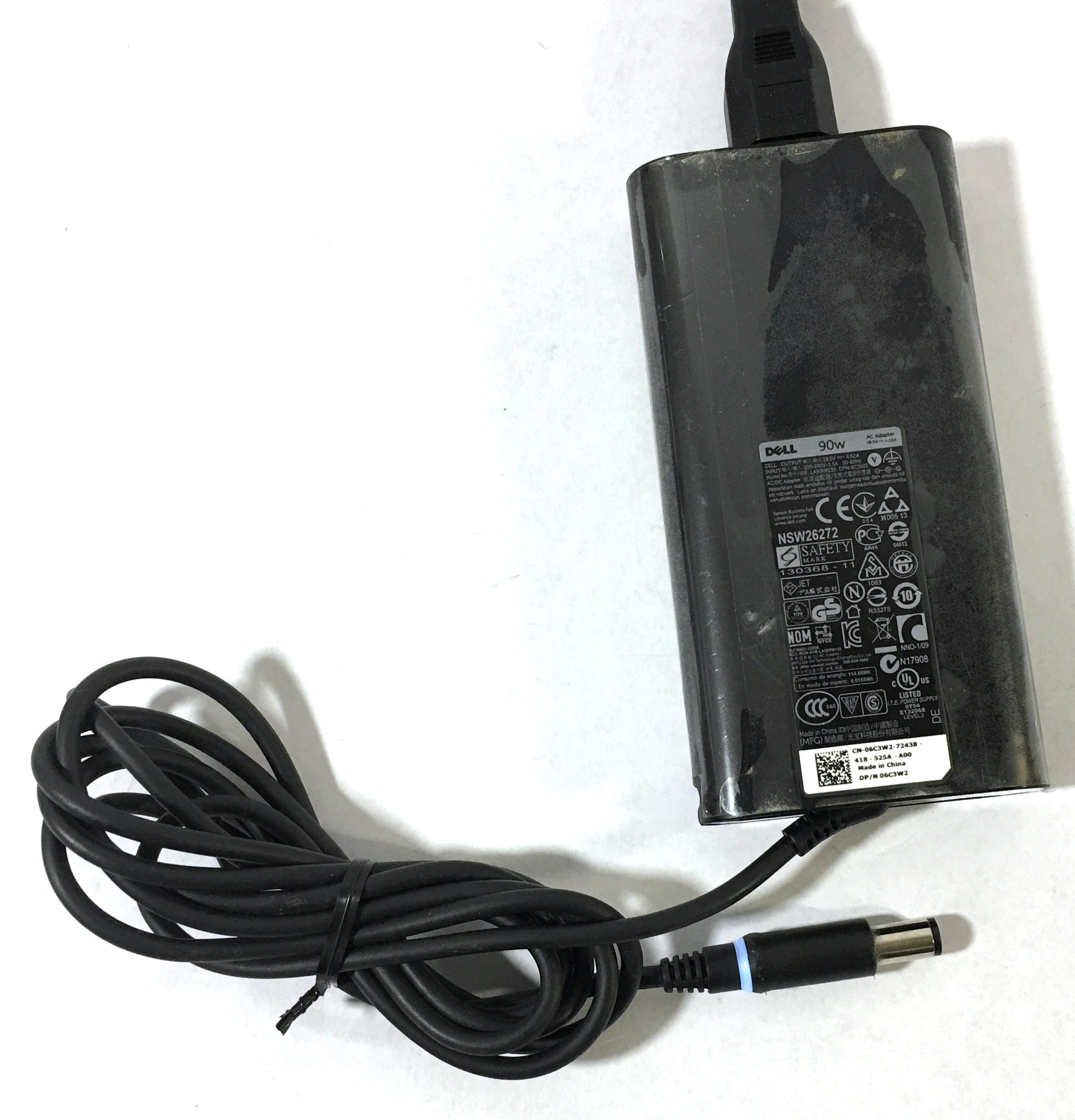 Dell 06C3W2 Chargers and 3 Pong cable