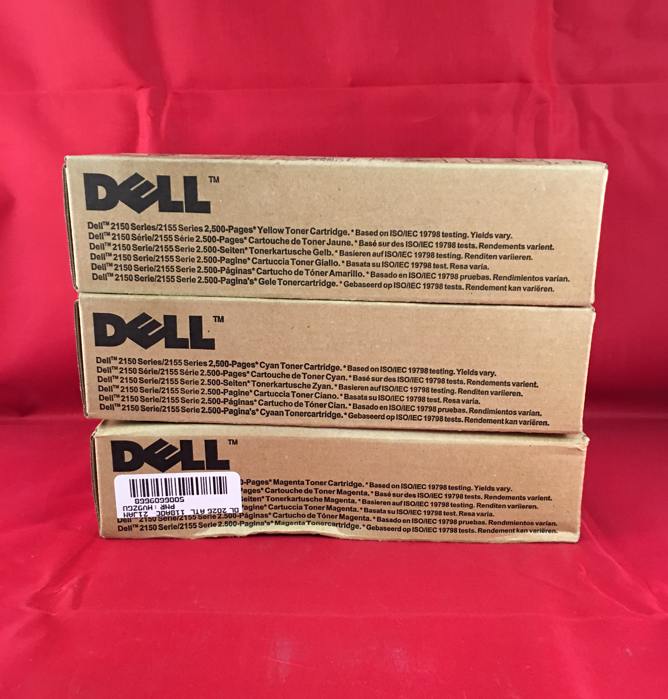 Dell Computer 331-0718 Yellow Toner For 2150cn 2150cdntonr 2155cn 2155cdn High