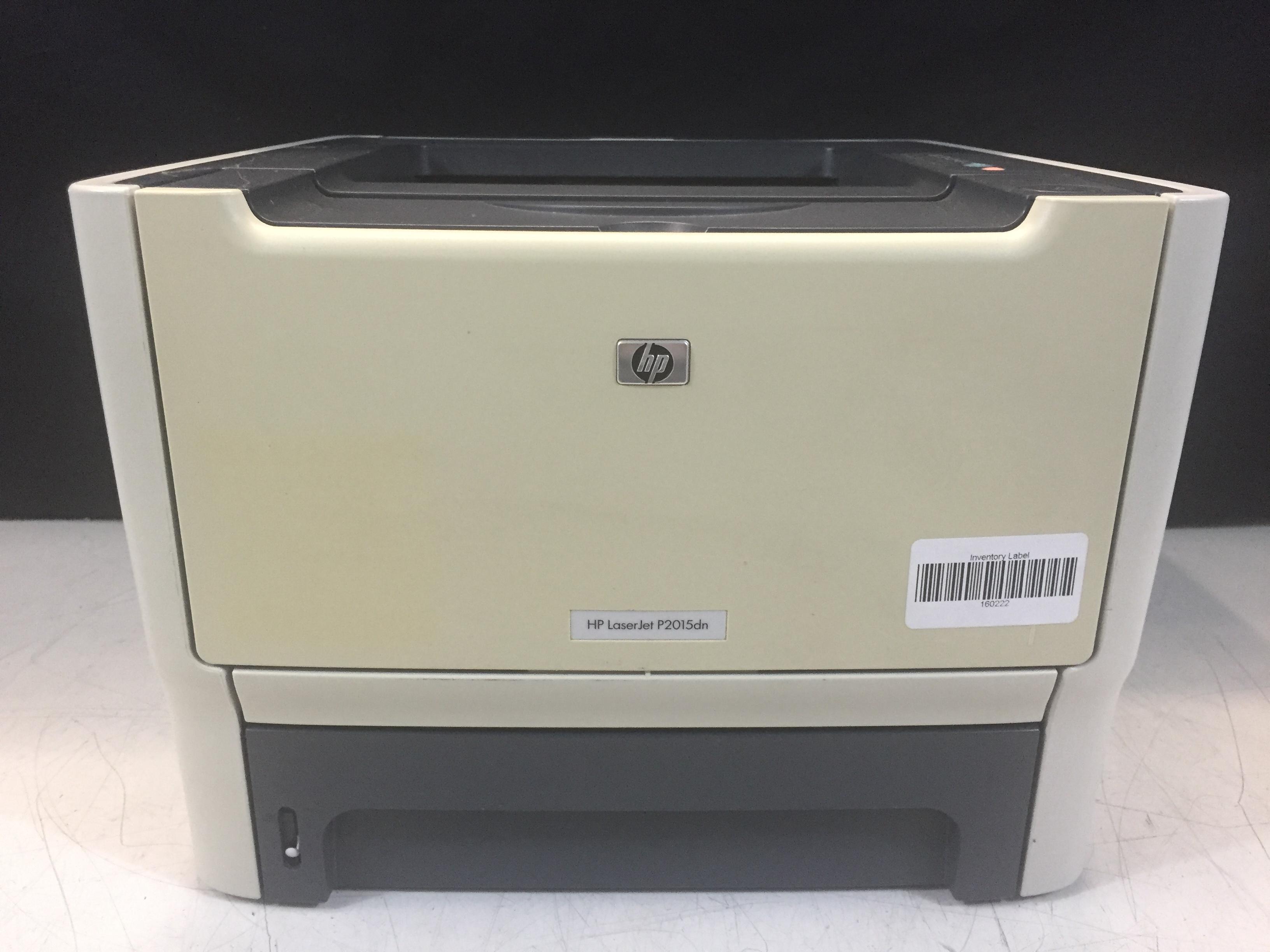 hp laserjet p2015dn cb368a printer 32 mb page count 66k ebay. Black Bedroom Furniture Sets. Home Design Ideas
