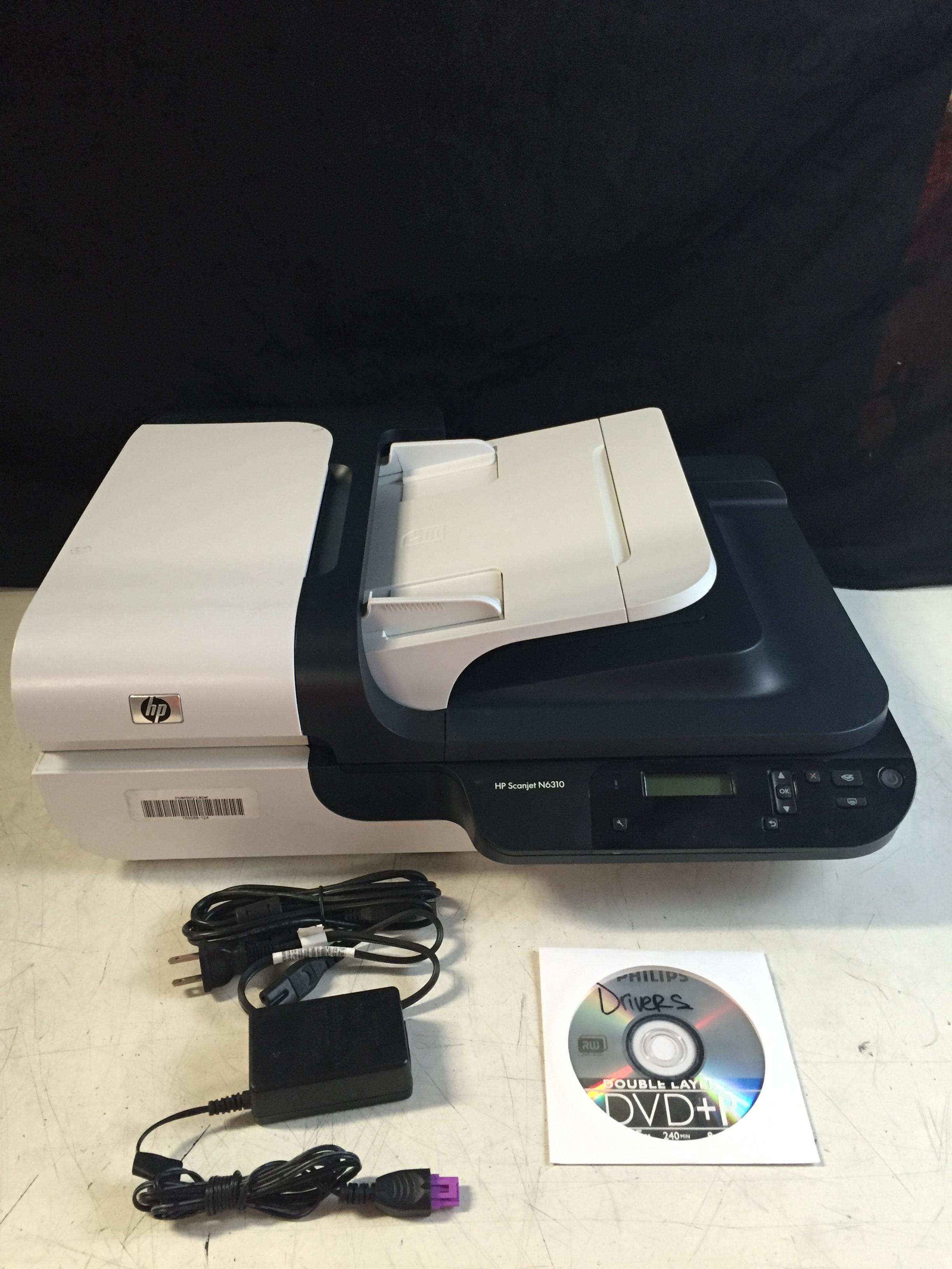 hp scanjet n6310 scan to pdf