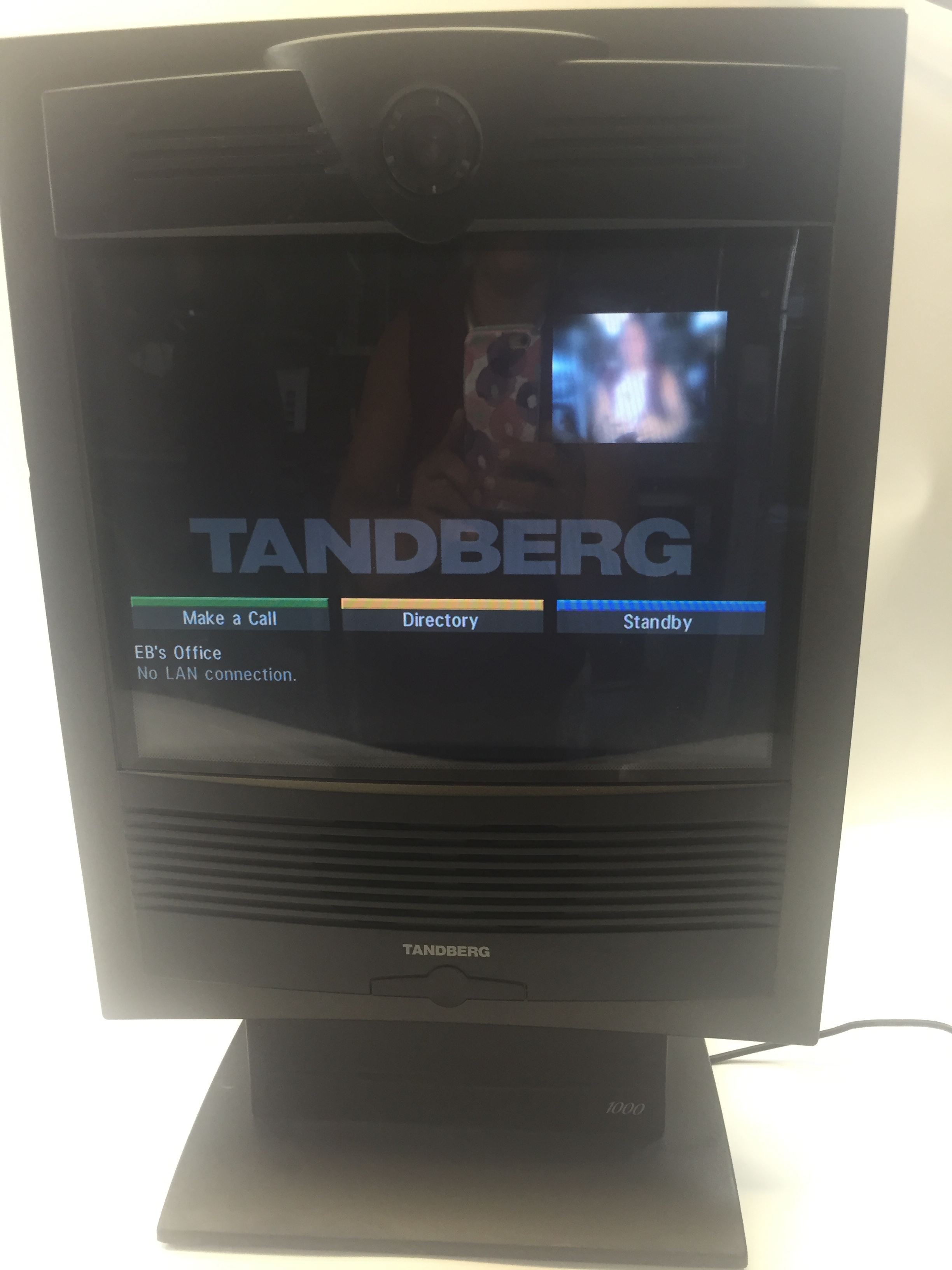 tandberg 1000 ttc7 02 video conferencing system with power supply ebay rh ebay com Tandberg 1000 Ttc7 12 Tandberg 1000 Ttc7 12
