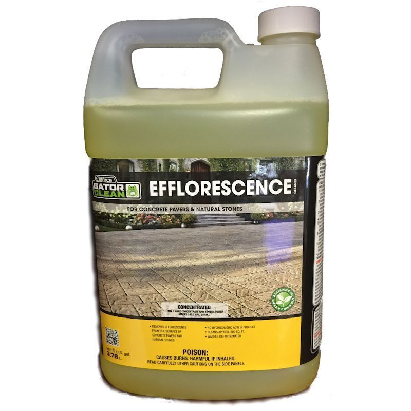 Alliance Gator Clean Efflorescence Cleaner 1 Gal For Pavers Amp Natural Stone Ebay
