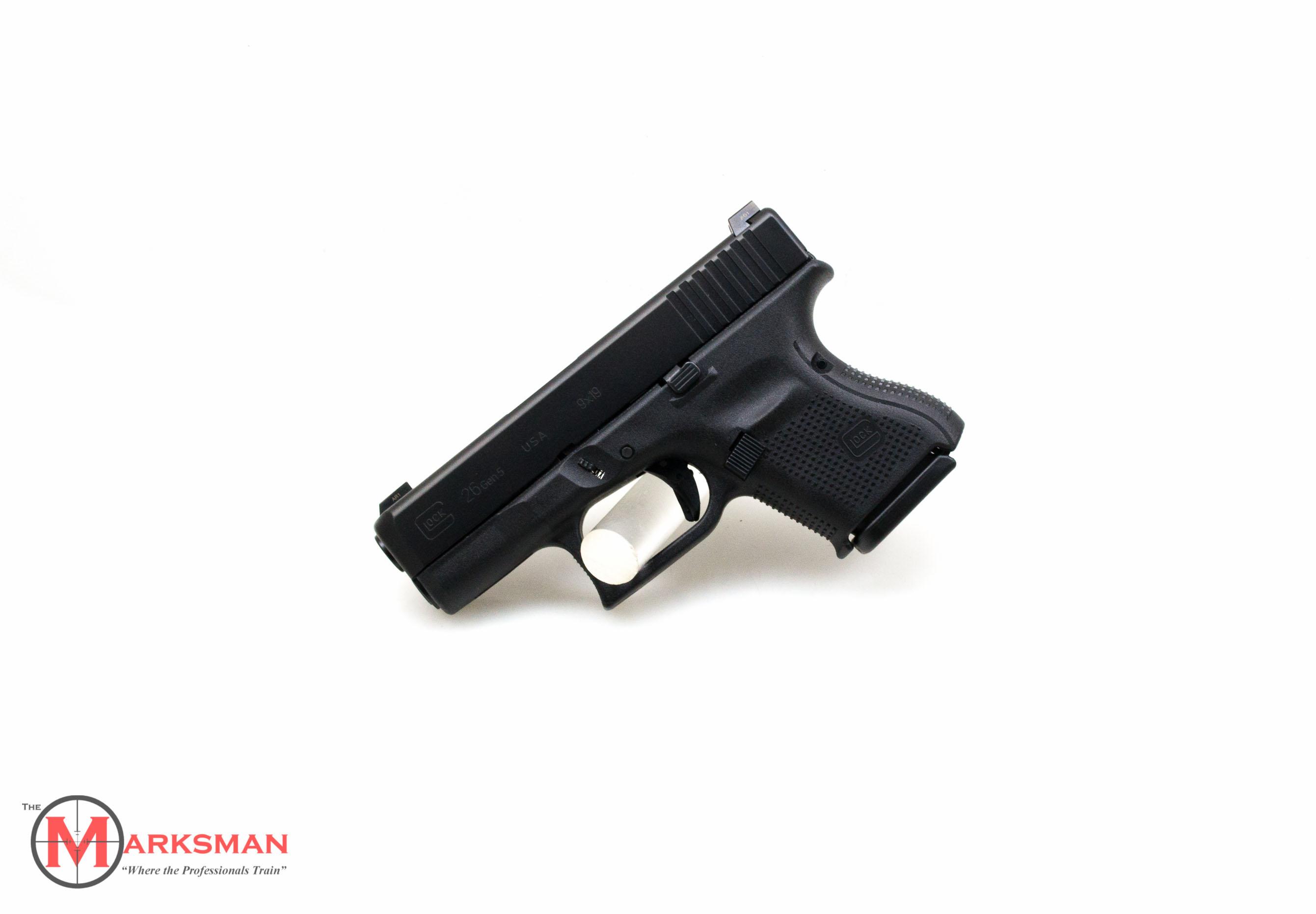 Glock 26 Generation 5 9mm NEW Glock Night Sights 9-img-0