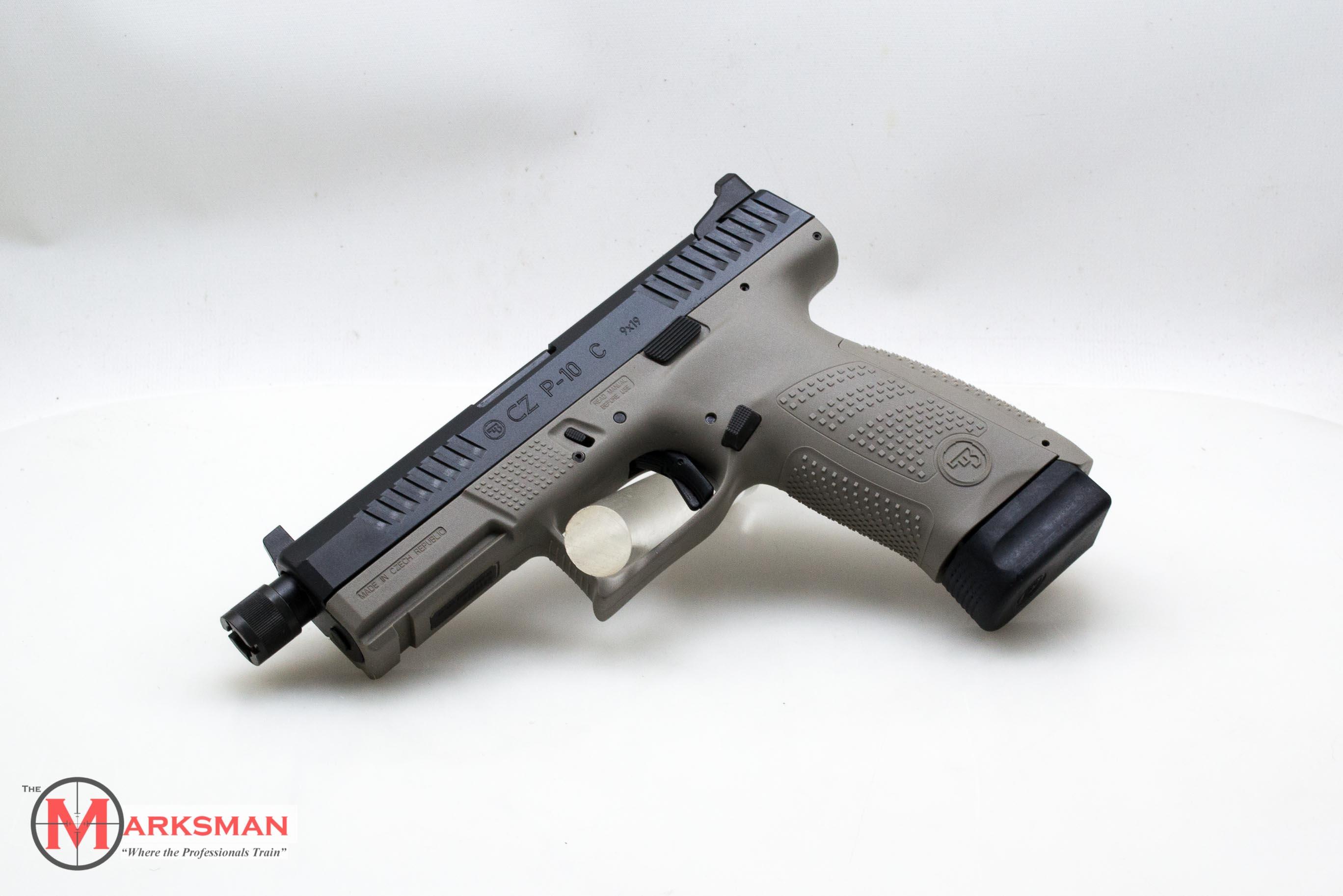 CZ P-10 C Suppressor Ready 9mm NEW Urban Grey - Semi Auto Pistols at
