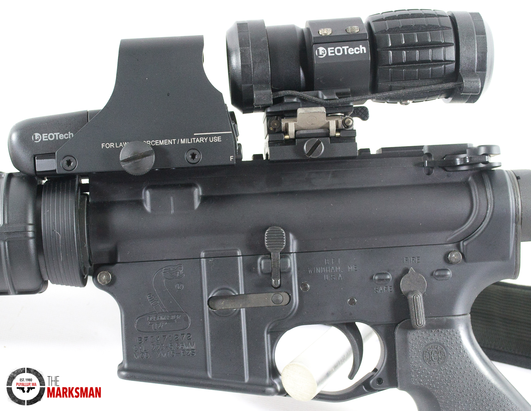 Bushmaster XM15 AR-15, 5 56mm NATO, Used - Semi Auto Rifles at