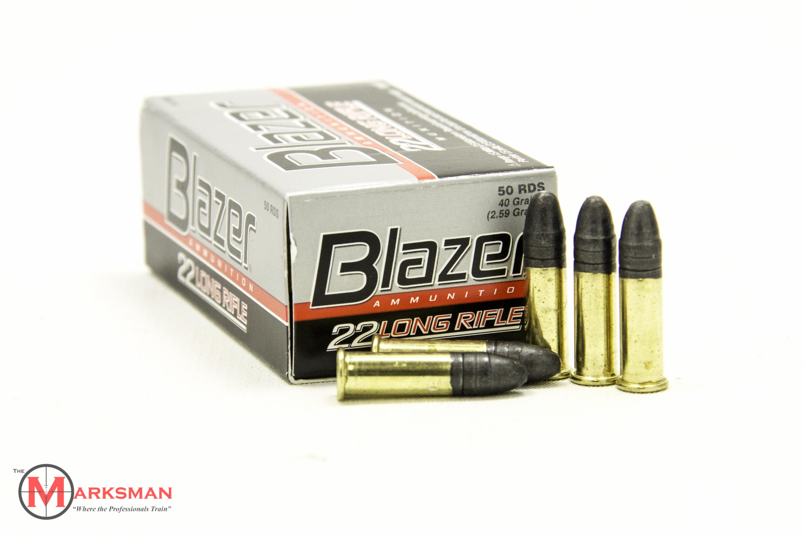 CCI Blazer .22 LR, 40 grain LRN NEW 50 RD Box 0021-img-0