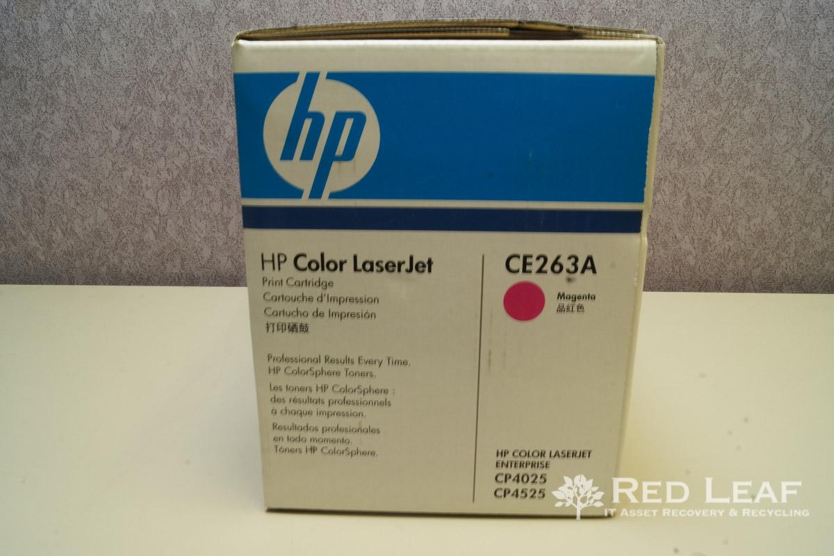 For CP 4025 Genuine HP 648A Print Cartridges Magenta Blue Box-New CE263A
