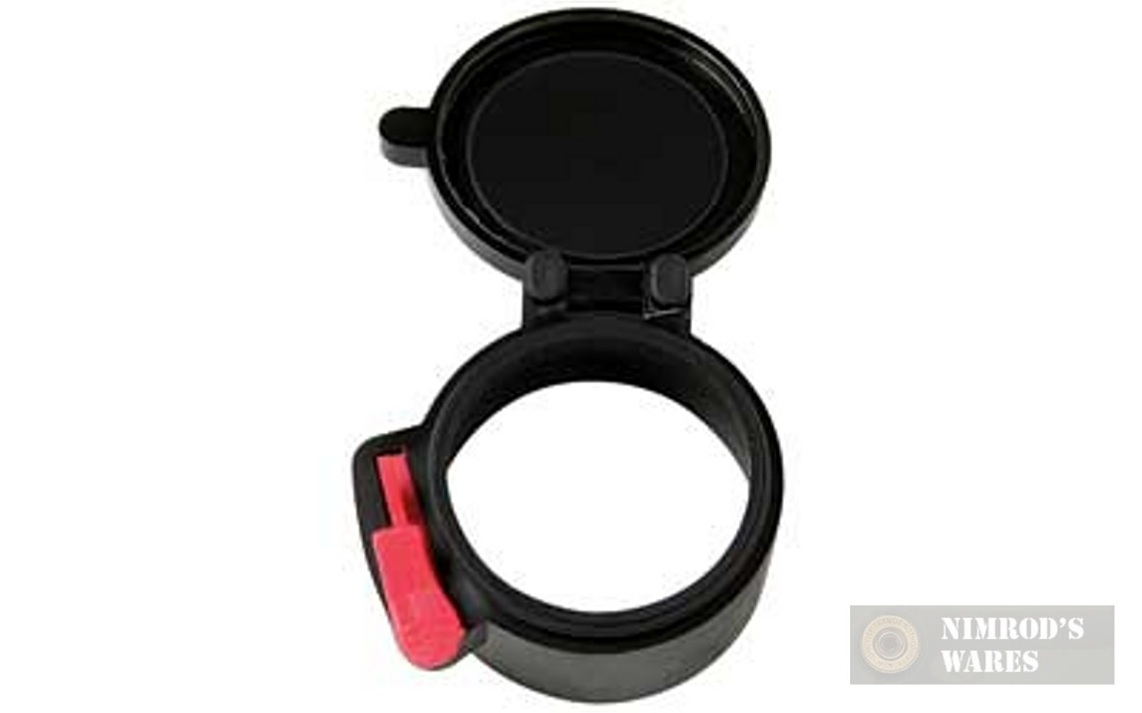 """TWO Butler Creek SCOPE COVERS Size 34 2.1"""" 53.3mm-img-1"""