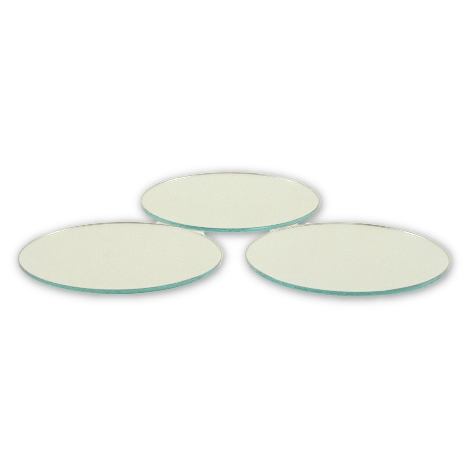 Small Mirror Pieces: 2.5 Inch Small Round Craft Mirrors Bulk 24 Pieces Also