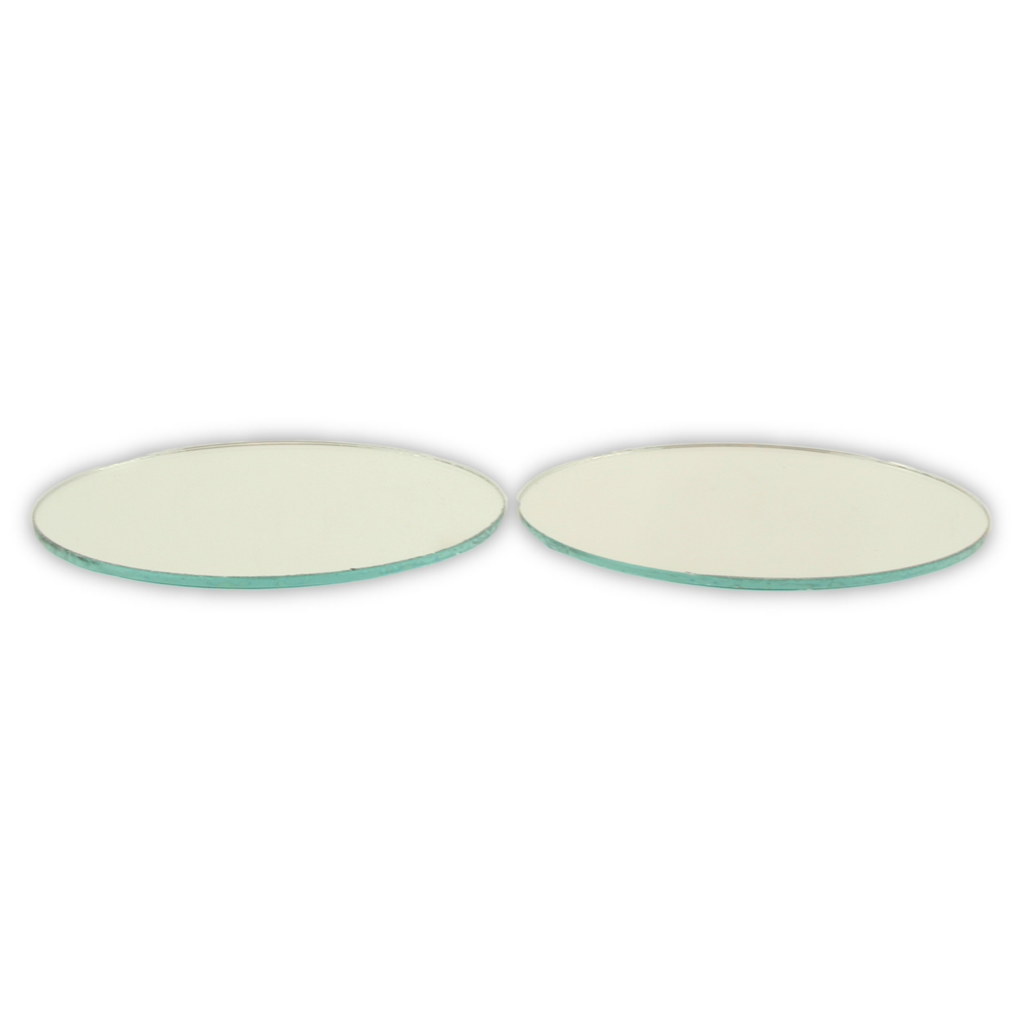 Small Mirror Pieces: 3 Inch Small Round Craft Mirrors Bulk 18 Pieces Also
