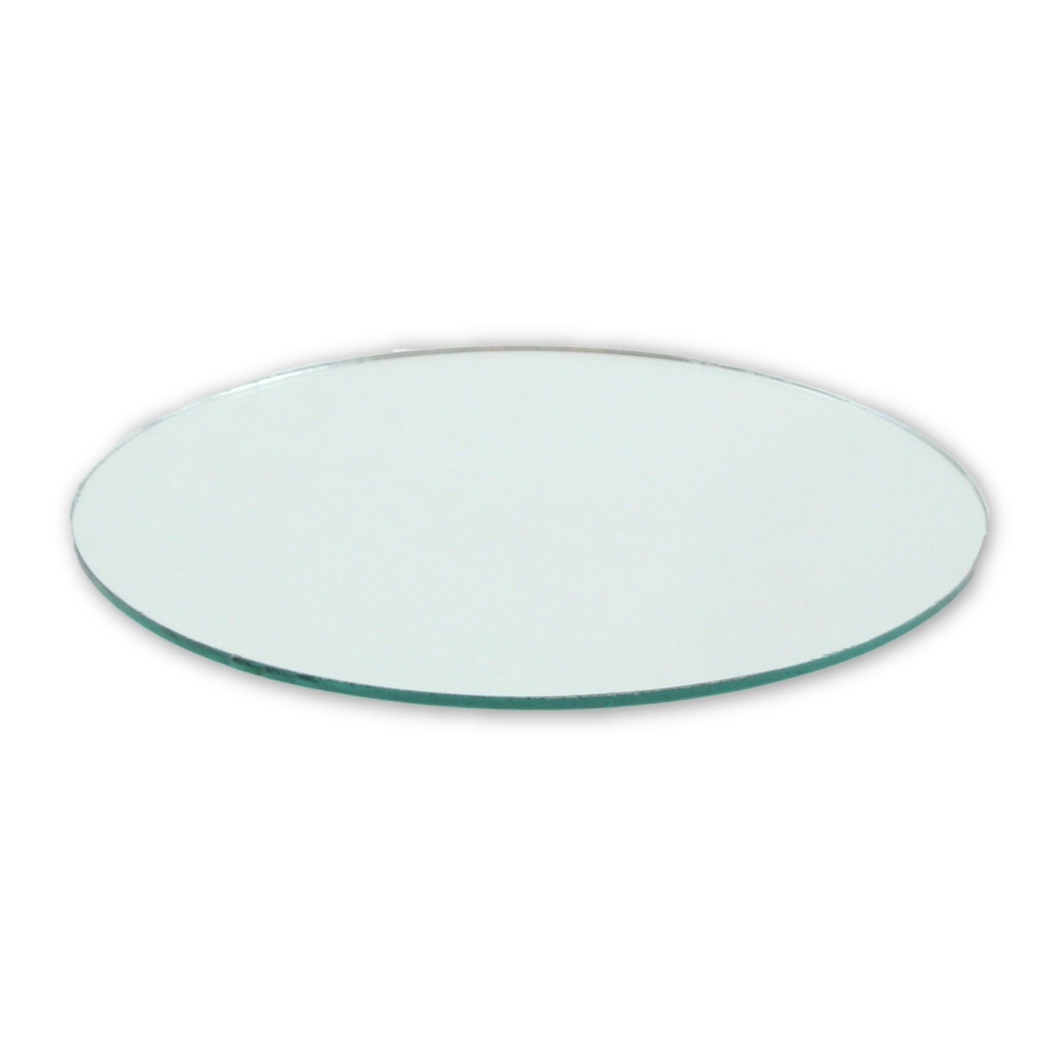 Small Mirror Pieces: 4 Inch Small Round Craft Mirrors Tiles Bulk Wholesale