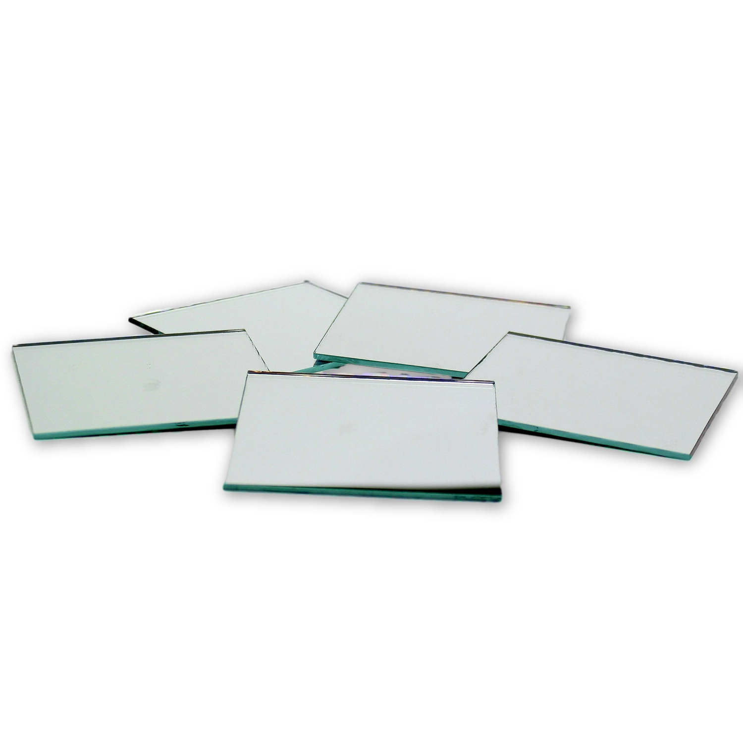 Small Mirror Pieces: 3 Inch Craft Glass Small Square Craft Mirrors Bulk 100