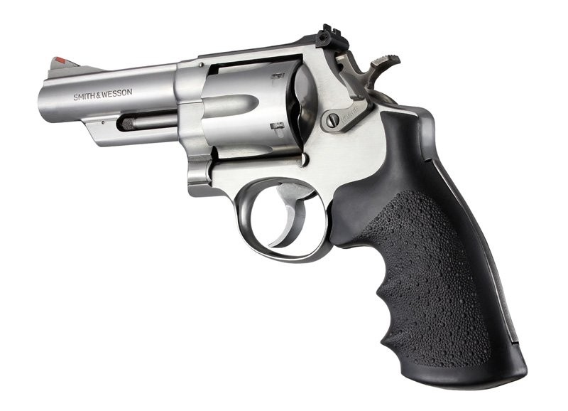 Hogue 29000 Finger Groove Grips Smith /& Wesson N Frame Square Butt