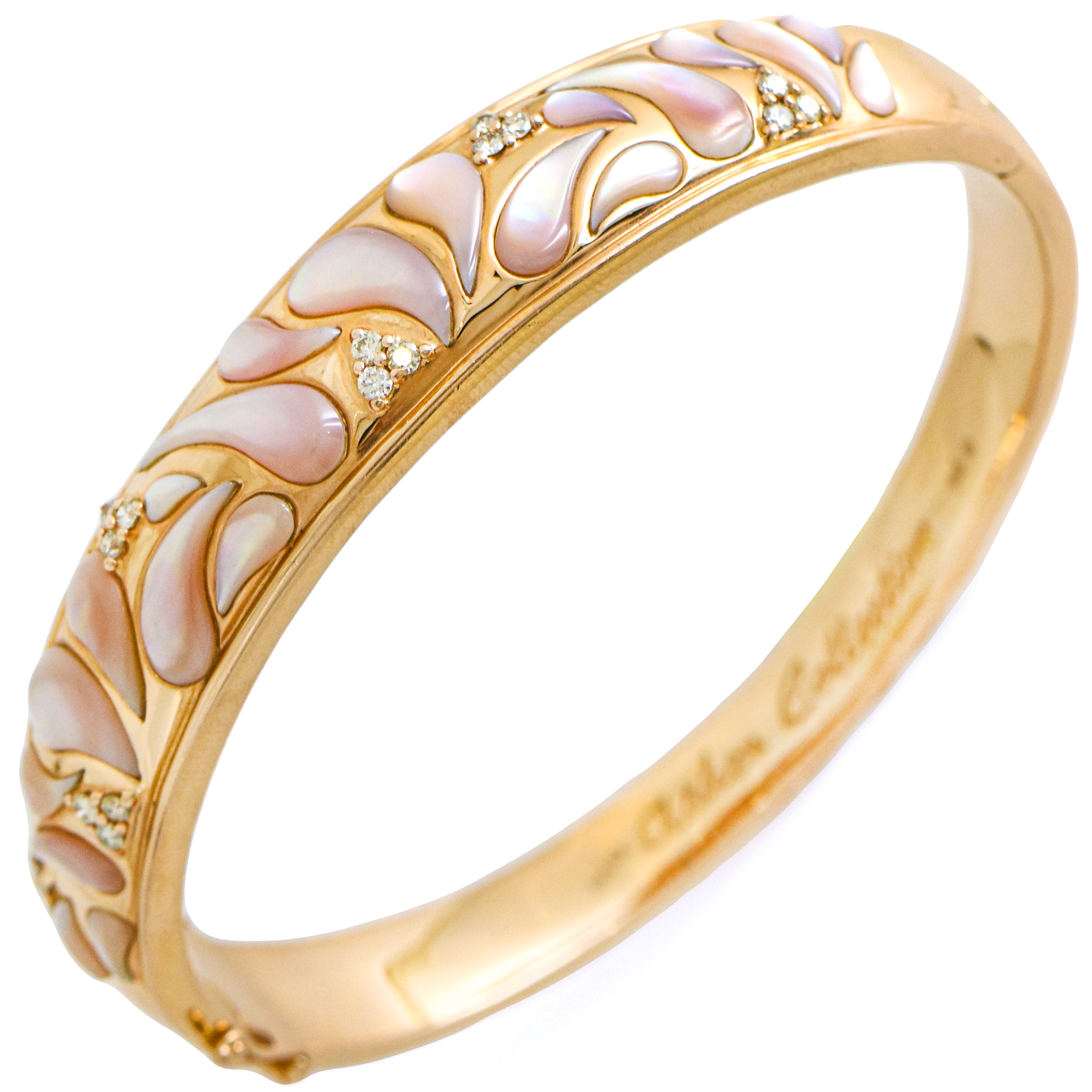 Asher Collection Pink Mother Of Pearl