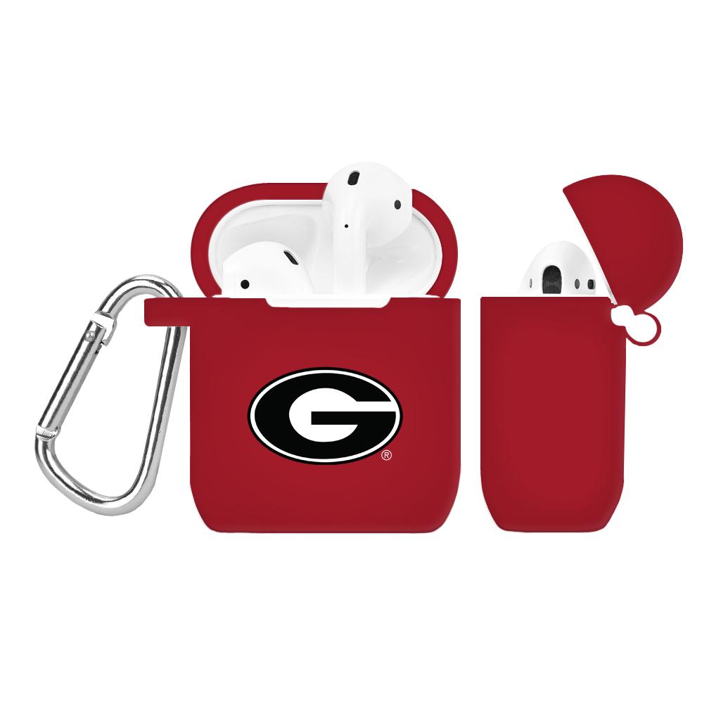 NCAA Georgia Bulldogs Crimson AirPod Case