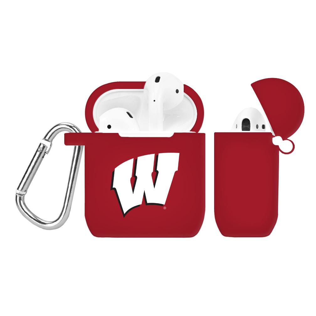 NCAA Wisconsin Badgers Crimson AirPod Case