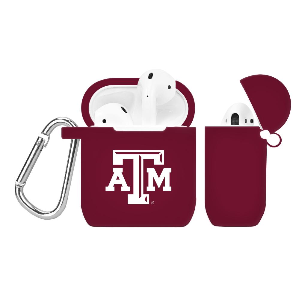 NCAA Texas A&M Aggies Maroon AirPod Case