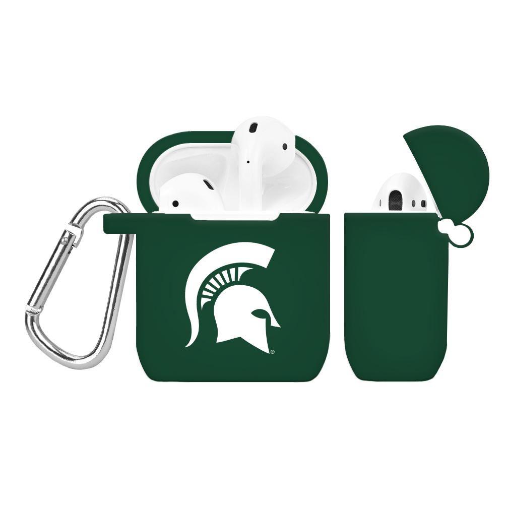 NCAA Michigan State Spartans Green AirPod Case