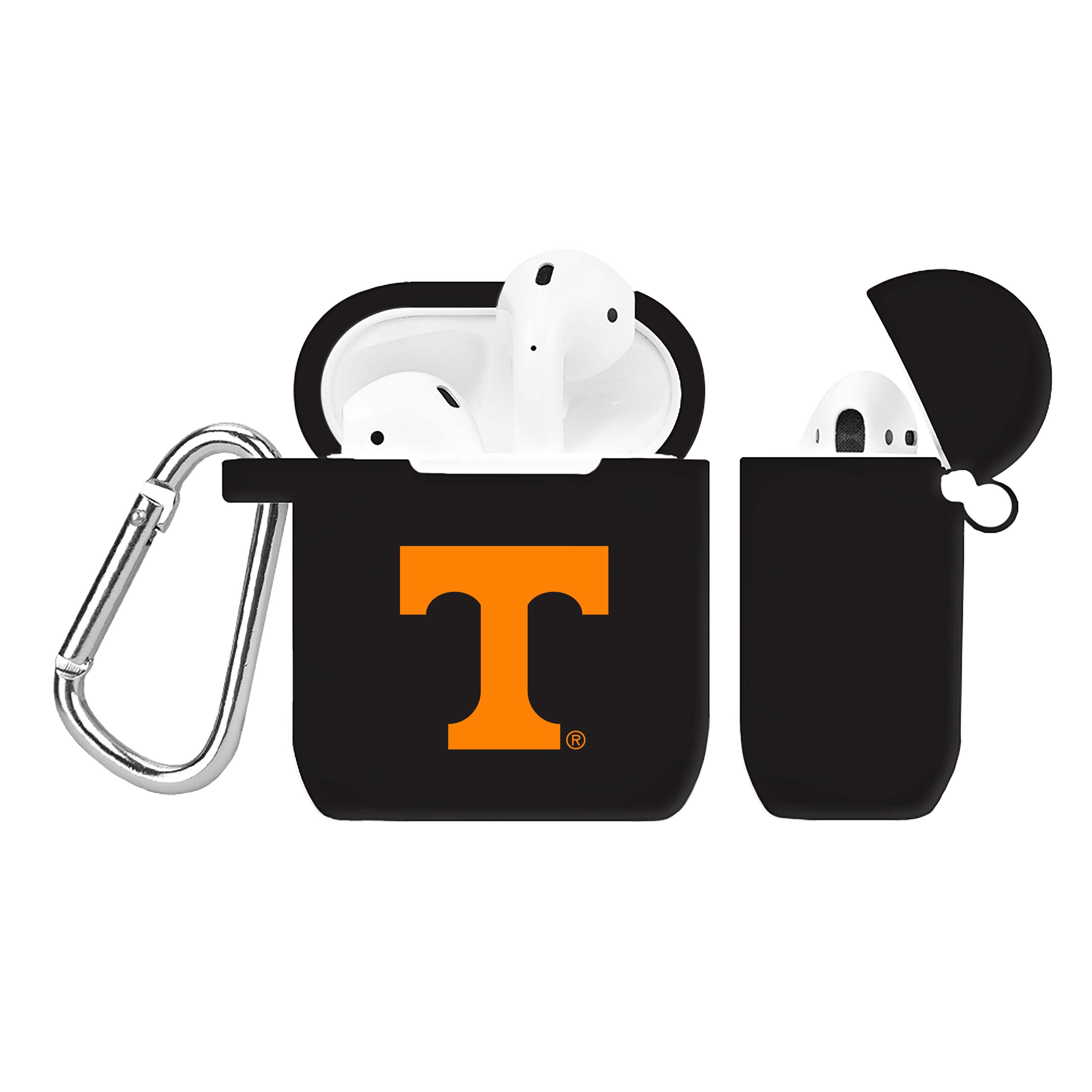 NCAA Tennessee Volunteers Black AirPod Case