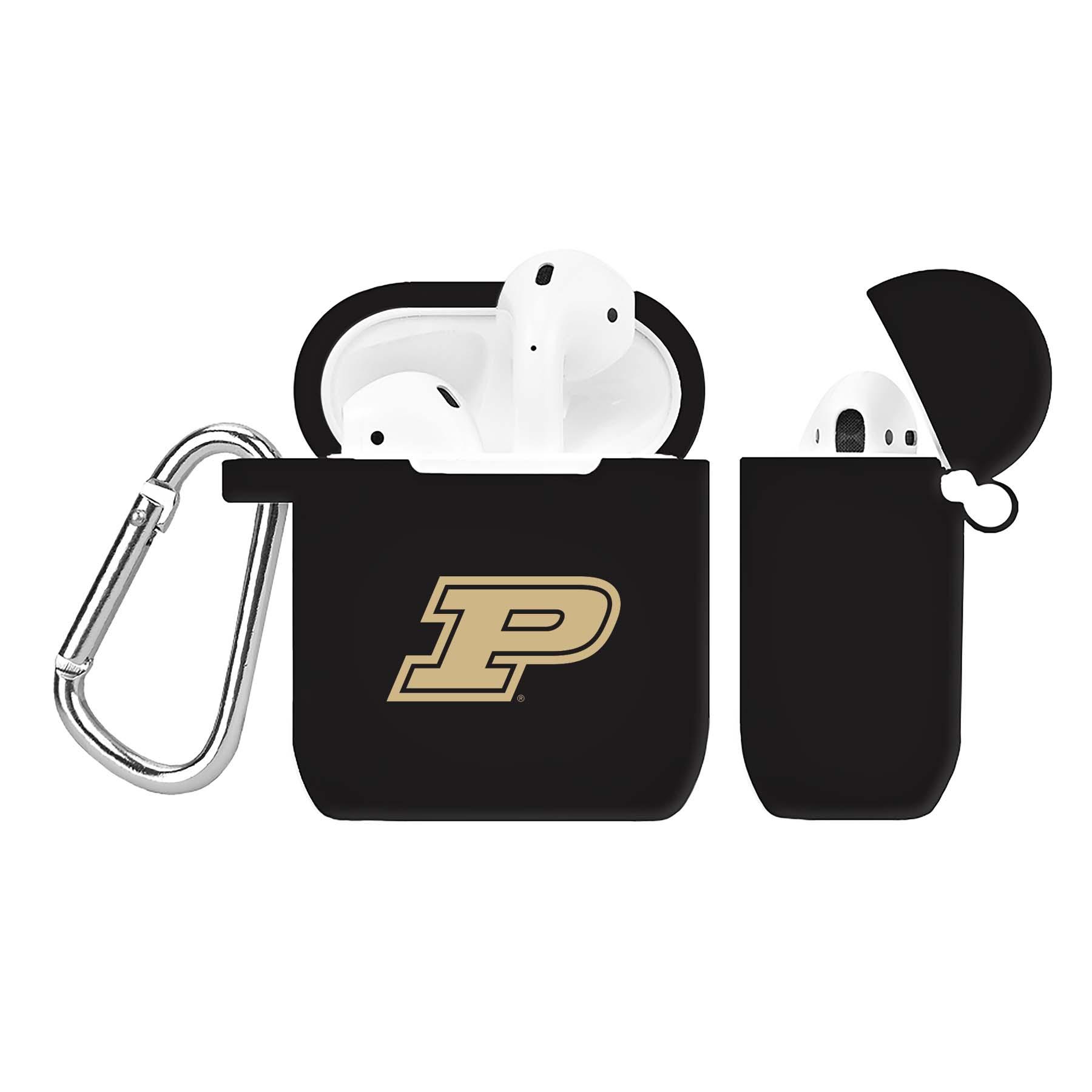 NCAA Purdue Boilermakers Black AirPod Case