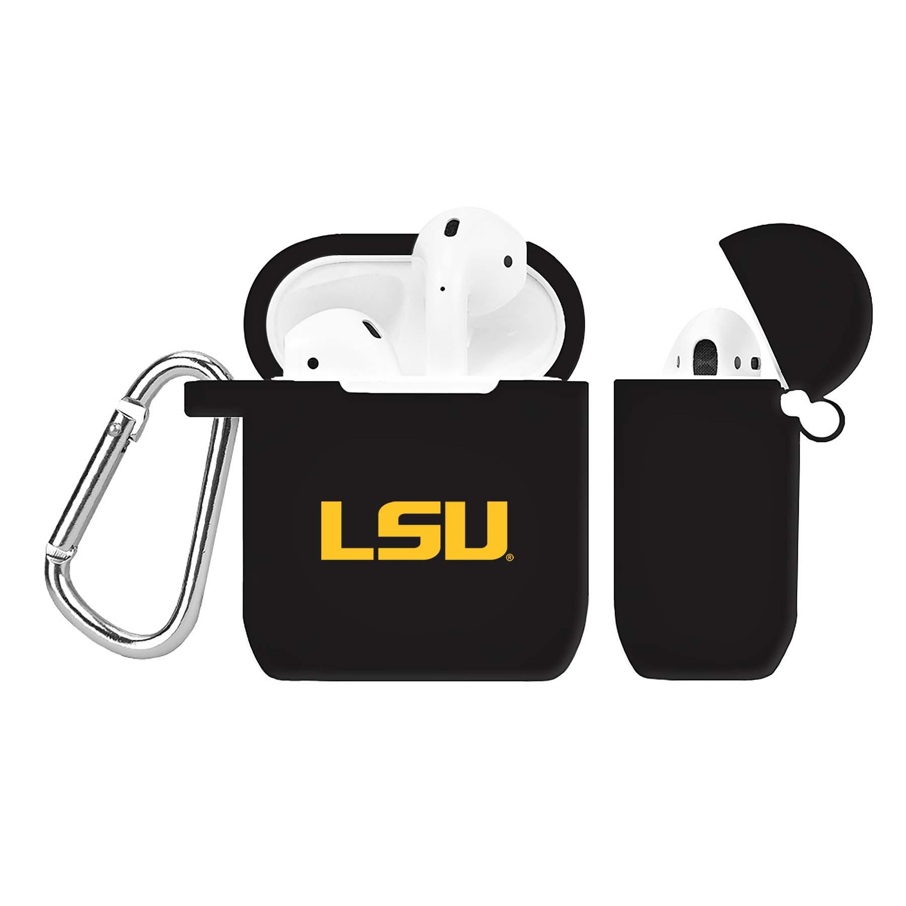 NCAA LSU Tigers Black AirPod Case