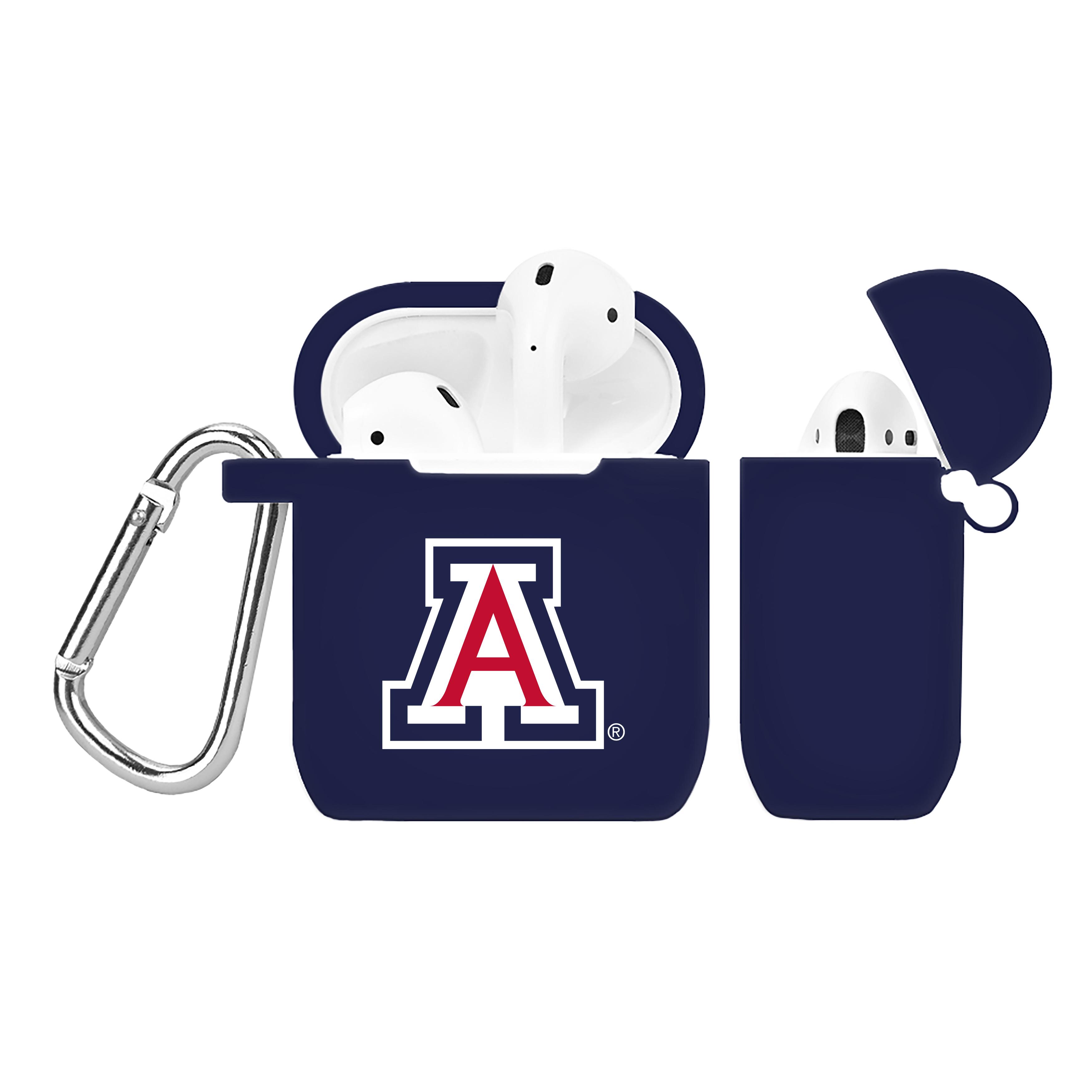 NCAA Arizona Wildcats Navy Blue AirPod Case