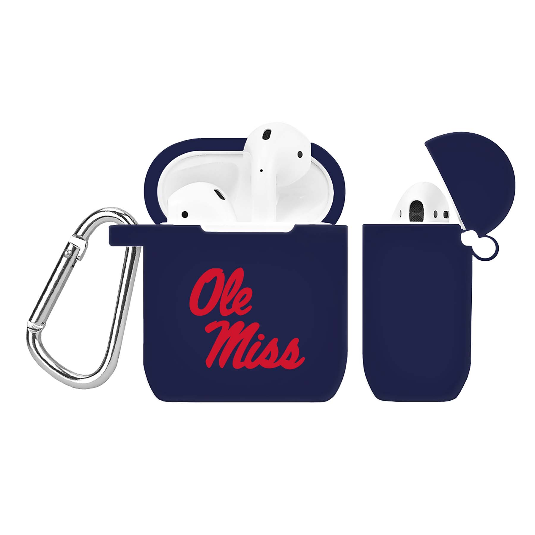 NCAA Mississippi Rebels Navy Blue AirPod Case