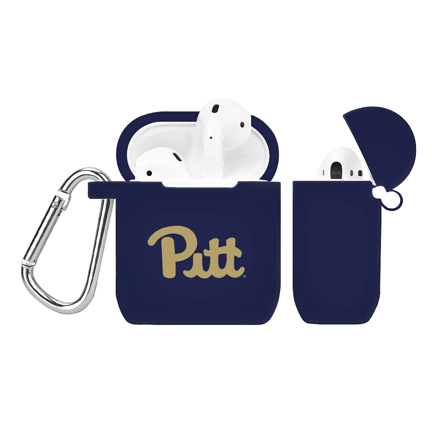NCAA Pittsburgh Panthers Navy Blue AirPod Case