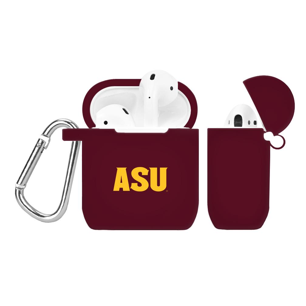 NCAA Arizona State Sun Devils Maroon AirPod Case