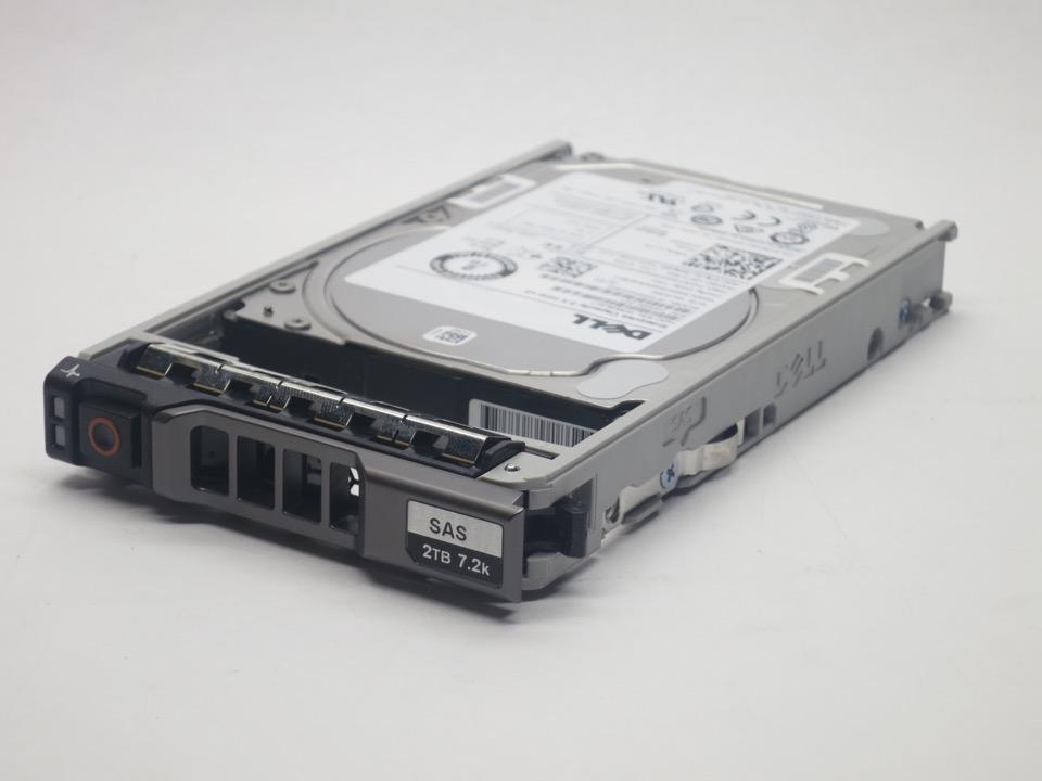 """7RCGV DELL 2TB 7.2K SAS 3.5/"""" 12Gb//s HDD 12G 13G KIT FS"""
