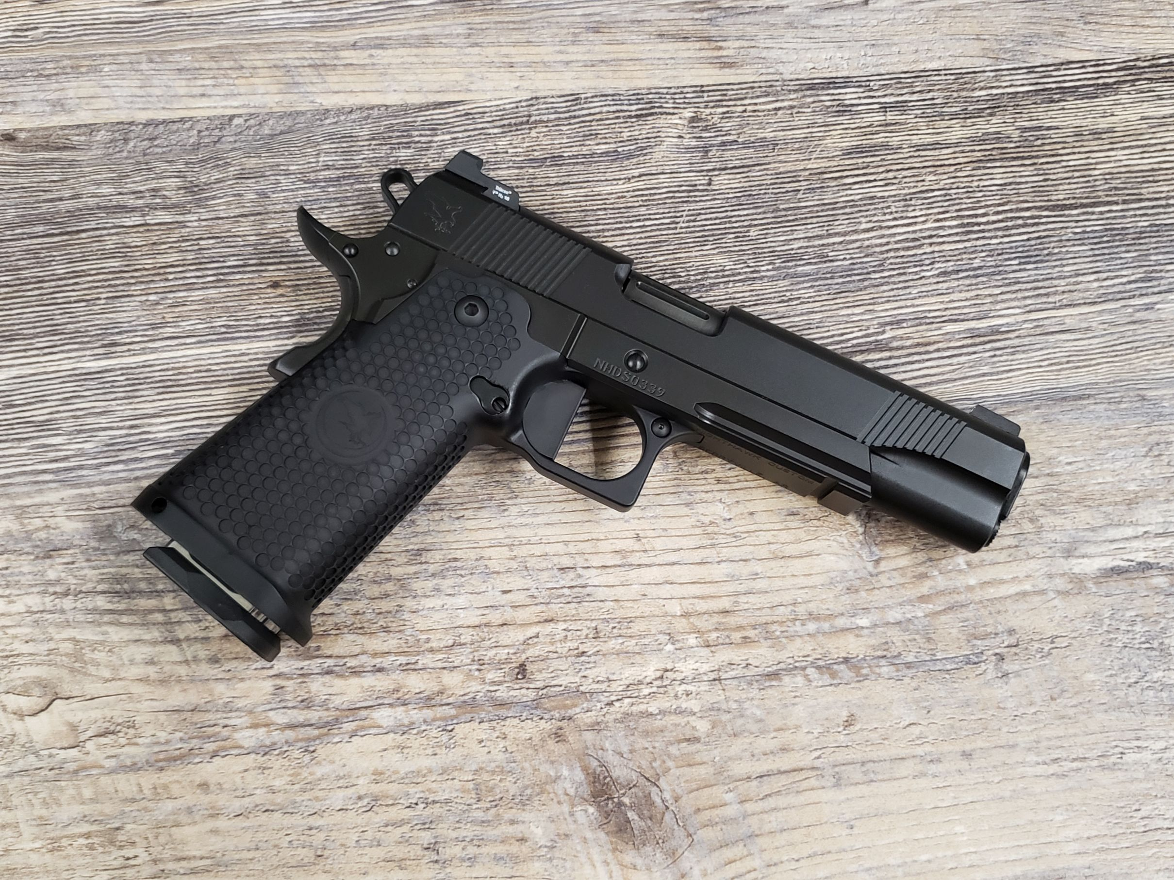 Nighthawk GRP Double Stack Black Out Fluted 9mm - Semi Auto